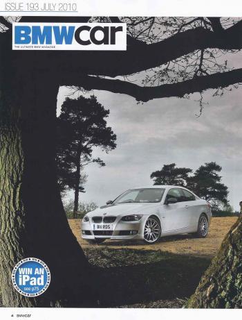 Editorial - BMWCar 'Bird of Paradise' - E92 335i - June 2010