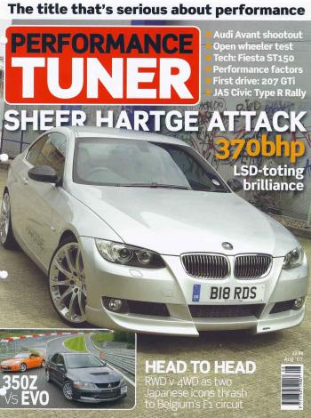 Editorial - Performance Tuner 'Sheer Hartge Attack' - E92 335i - August 2007